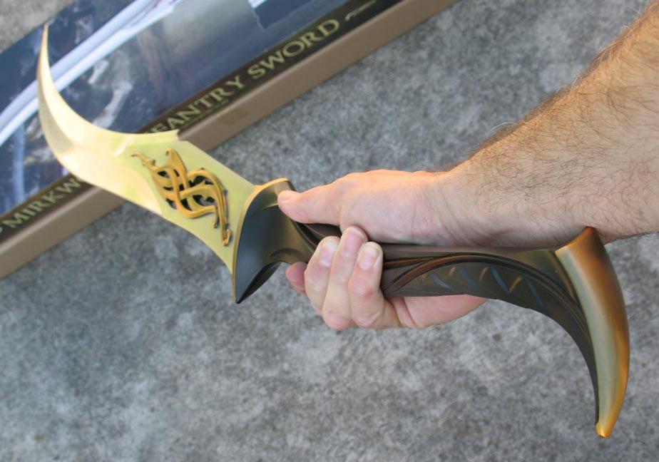 Mirkwood Infantry Sword (UC3100) - The Flame of Udun