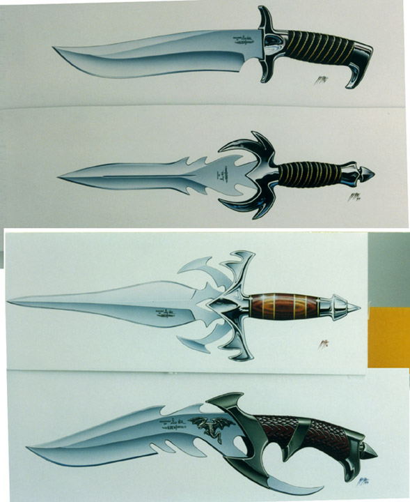 Cool Swords Weapon Concept Art Knives And Swords T