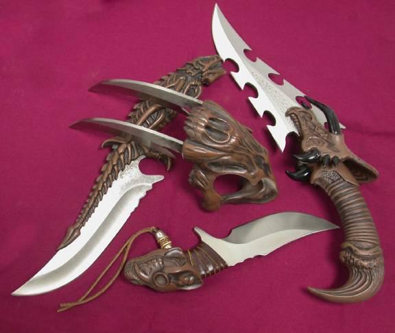 Unique collector knives