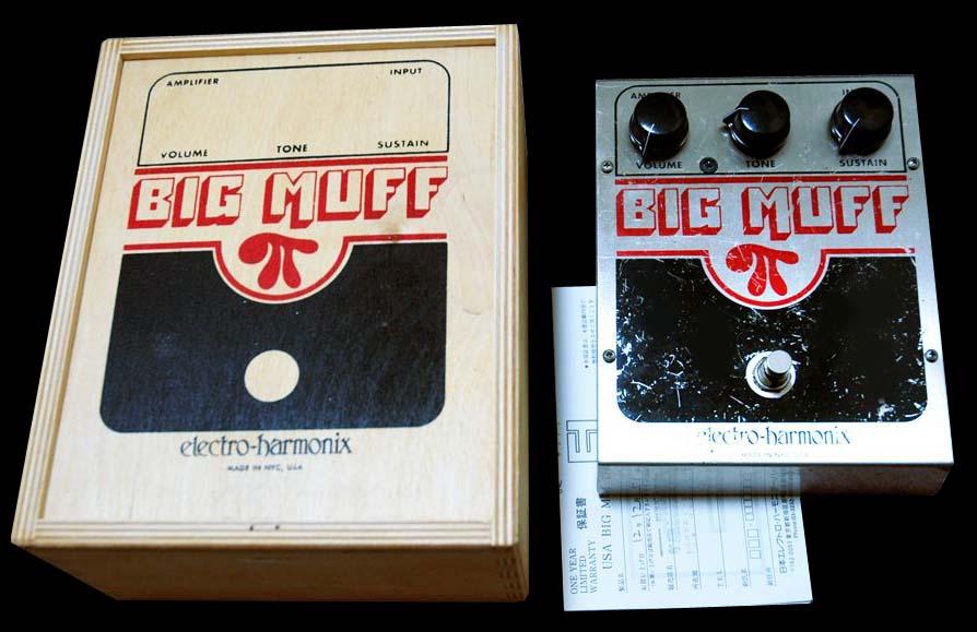 Electro Harmonix US Big Muff Pi Made in USA
