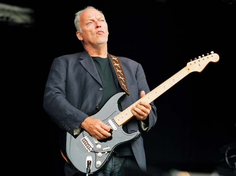 the unique guitar blog  david gilmour