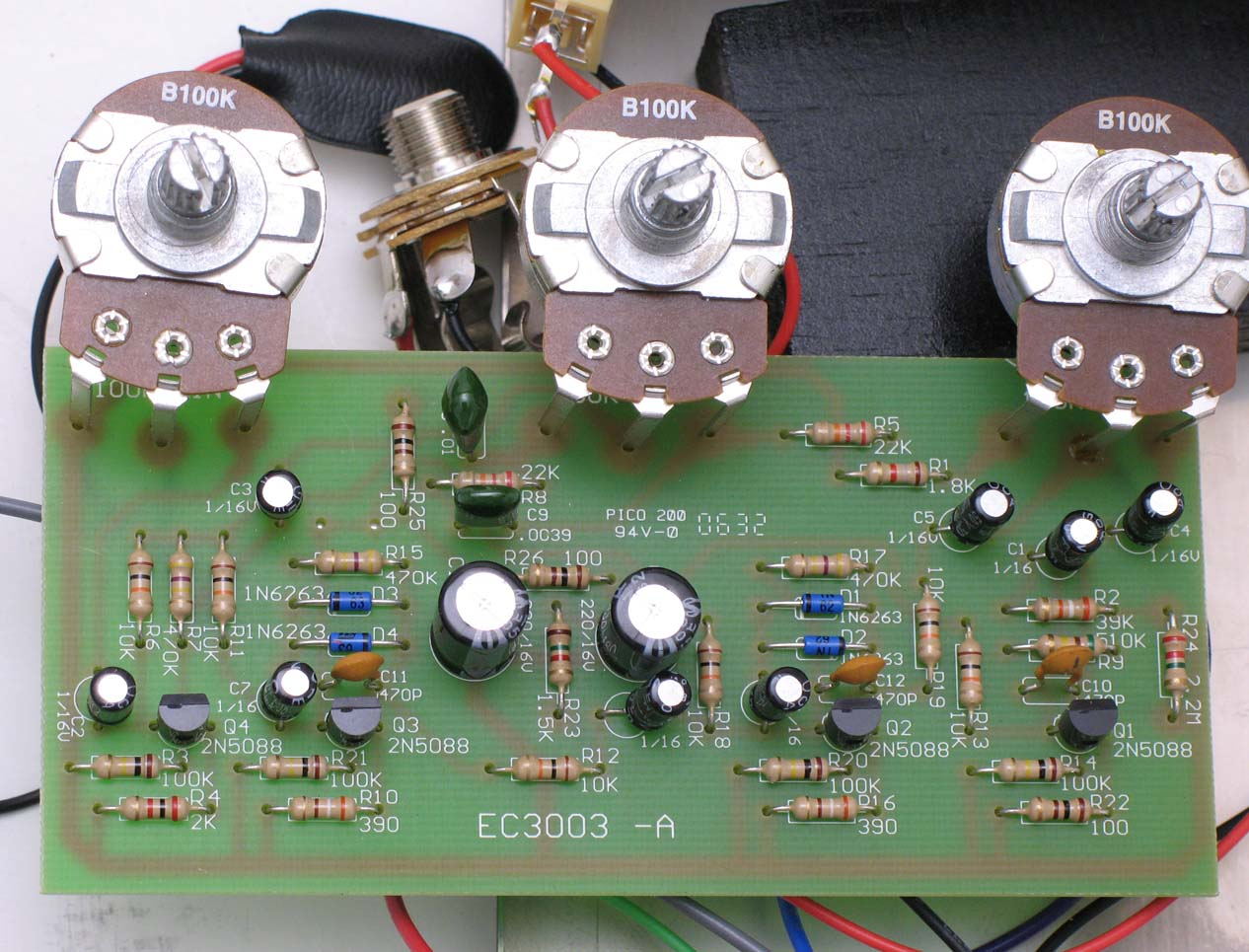 The Big Muff History Of All Versions 3 Re Vero Wah Circuit