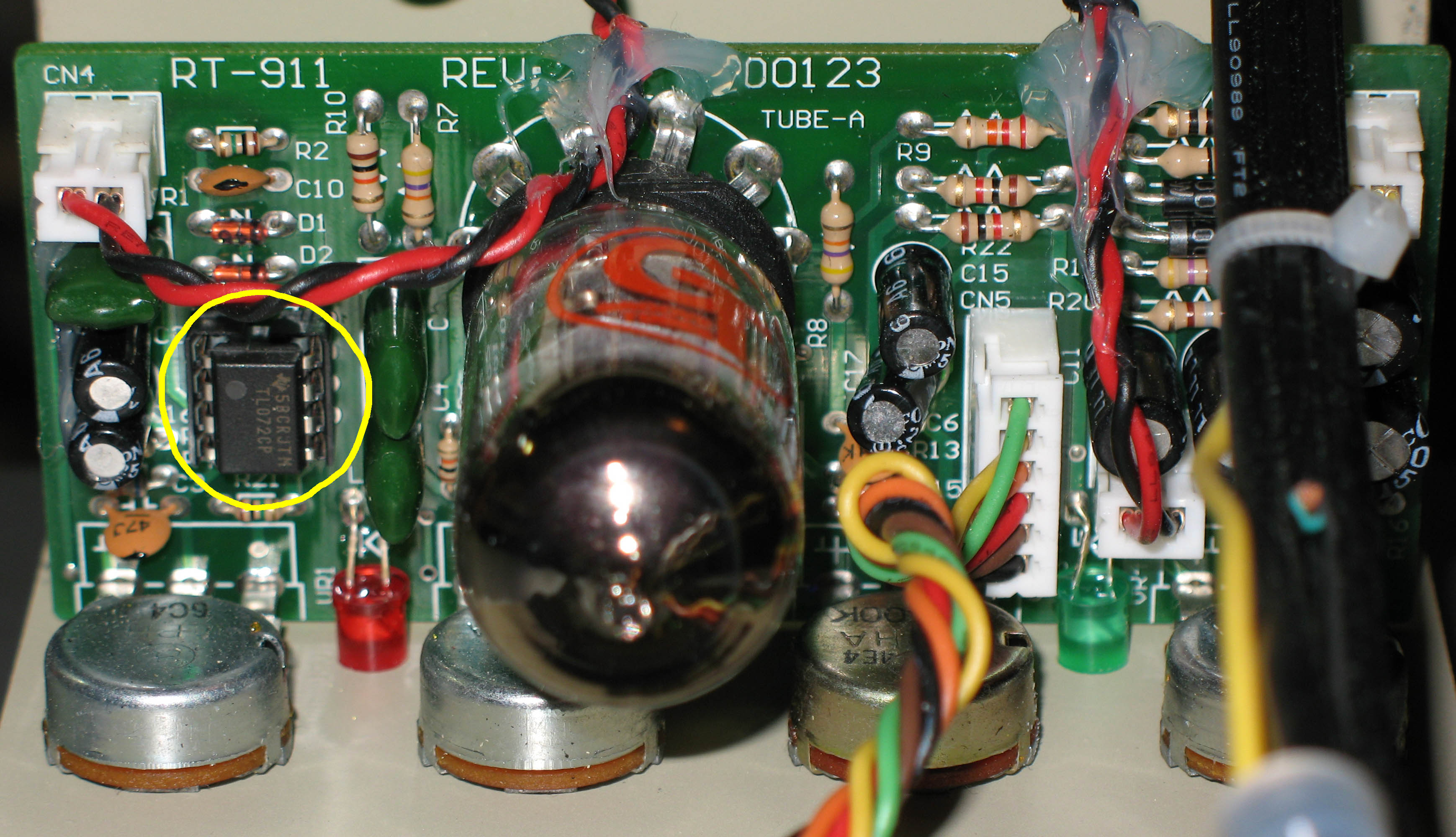 Bk Butler Tube Driver Op Amp Inverting Buffer With Opamps Electrical Engineering Stack Modifications Changing Amps As Stated Most Of The Hard Clipping Distortion Comes From Not You May Notice That On