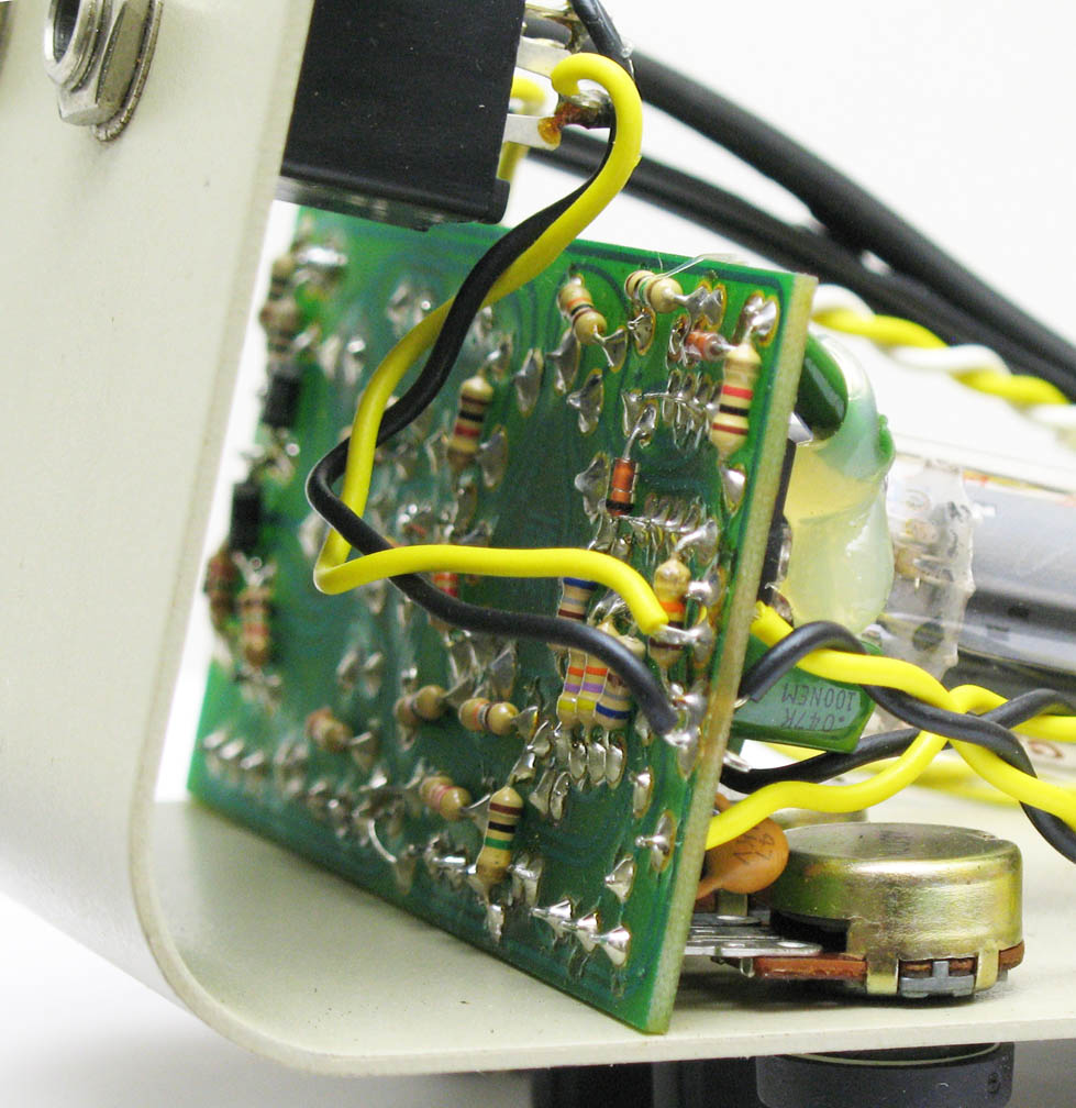 Bk Butler Tube Driver Guitar Wiring Two Volume One Tone Shown Above A 1994 Works Model 911
