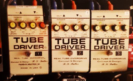David Gilmour Tone Building - Tube Driver