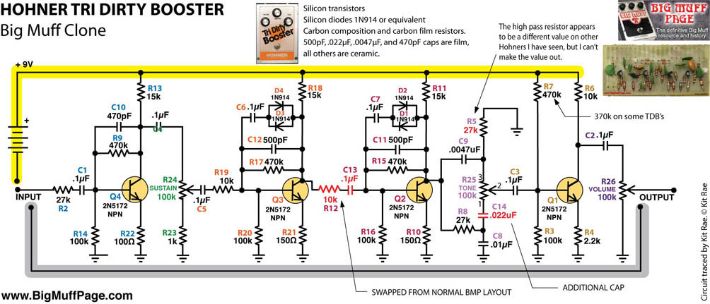 HOHNER TRI DIRTY BOOSTER_Schematic hohner bass guitar wiring diagram dolgular com hohner encoder wiring diagram at aneh.co