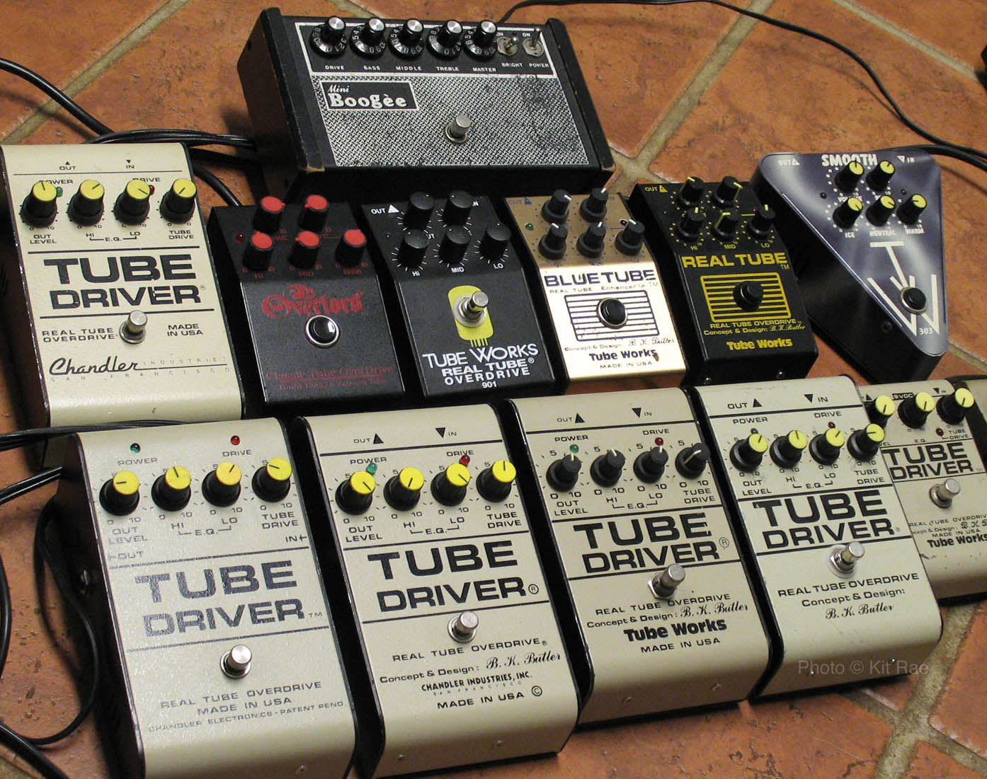 Bk Butler Tube Driver Treble Booster Is Simply The Two Stage Jfet Preamp Circuit Model 303 Are Lower Gain Versions Of Same Suitable For Mid Overdrive And Rhythm Playing Or Boosting An Amp High Pedal